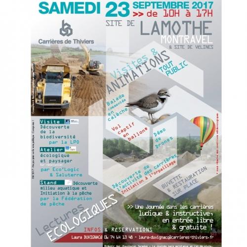 Affiche JPO Lamothe-Montravel et Vélines